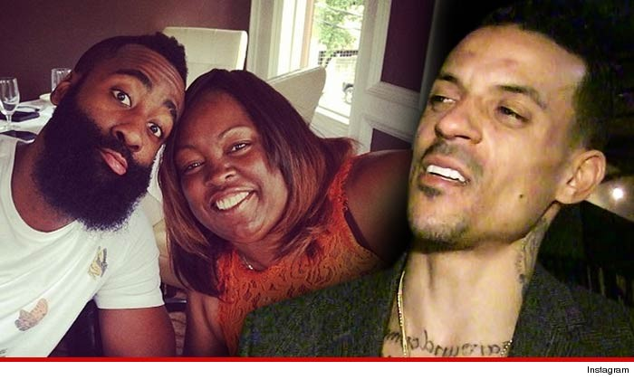 1476b5eb8424 James Harden s mother tells TMZ Sports ... Matt Barnes PERSONALLY  APOLOGIZED Wednesday night ... after the L.A. Clippers star hurled an  extremely rude ...