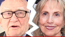 Ed Asner -- Come and Get It, Ladies!! Finally Files for Divorce