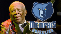 Memphis Grizzlies -- Honoring B.B. King ... Before HUGE Playoff Game