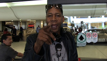 Mark Curry -- Hey, Delta ... All Black People Don't Carry Guns! (VIDEO)