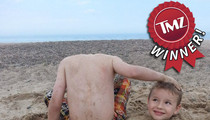 TMZ's Beachin' Baby Photo Contest  -- WINNER!