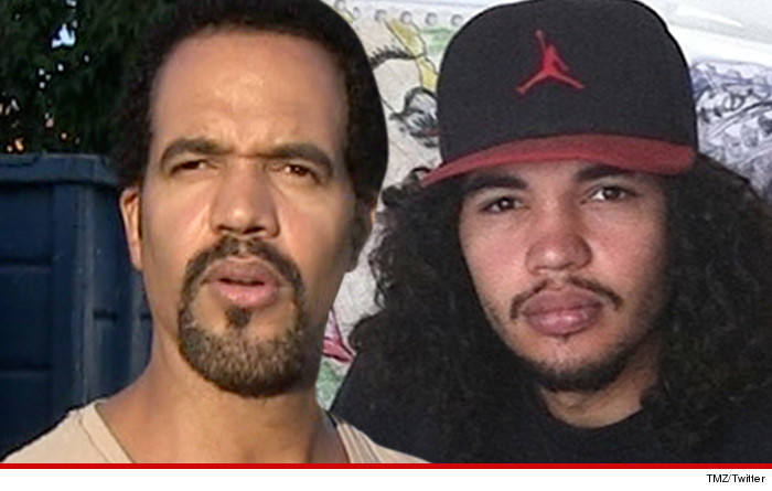 Image result for Kristoff St. John and son who died