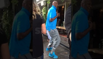 Lamar Odom -- 1-Man Dance Party ... In L.A. Day Club