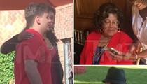 Michael Jackson's Son Prince -- Grandma & Grandpa Reunite for Graduation Party (PHOTOS)
