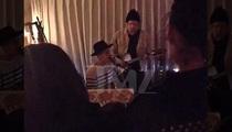 Justin Bieber & Cody Simpson -- Italian Restaurant Performance Molto Bene (VIDEO)