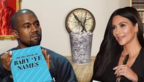 Kim Kardashian & Kanye West – Not Heading South ... With New Baby Name