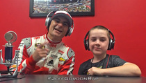 Jeff Gordon Raps -- Makes Vanilla Ice Look Like Jay Z