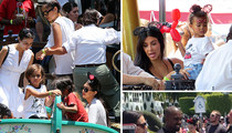 North West -- I Was a Big Disneyland Attraction for My Birthday!  (PHOTOS)