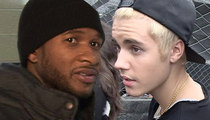 Justin Bieber, Usher -- We Need Somebody to Love ... On a Jury
