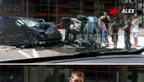 NBA's Alex Len -- Wrecks BMW In Brutal Crash (Photo)