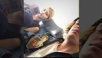 Gigi Hadid & Cody Simpson -- First Class Trip to Awkward, U.S.A (PHOTO)