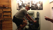 Lance Armstrong -- Rollin' with Brett Favre
