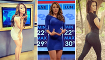 Yanet Garcia -- Major Smoking Hot Front Moving in from Mexico (TMZ TV)