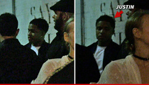 Justin Combs -- Back on the Party Train ... Hits Hollywood Nightclub