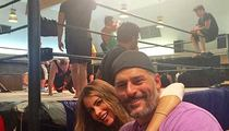 Sofia Vergara & Joe Manganiello --  Slammin' Date Night