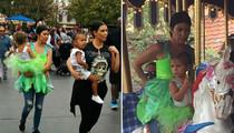 Kourtney Kardashian -- Solo Parenting for Penelope's Birthday (PHOTO)