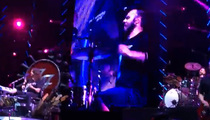 Foo Fighters -- Lucky Fan Rocks Out With The Band