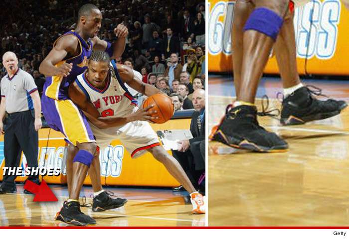 70dda80c9025 So Nike -- looking to court the young superstar -- made him custom size 14  Player Edition Air Jordan VII s.
