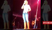 Miranda Lambert --  Overtaken By Emotion Onstage Days Before Divorce Decree (VIDEO)