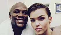 Floyd Mayweather Jr. -- You Look Like Someone I Know! Hangs with Ruby Rose (PHOTO)