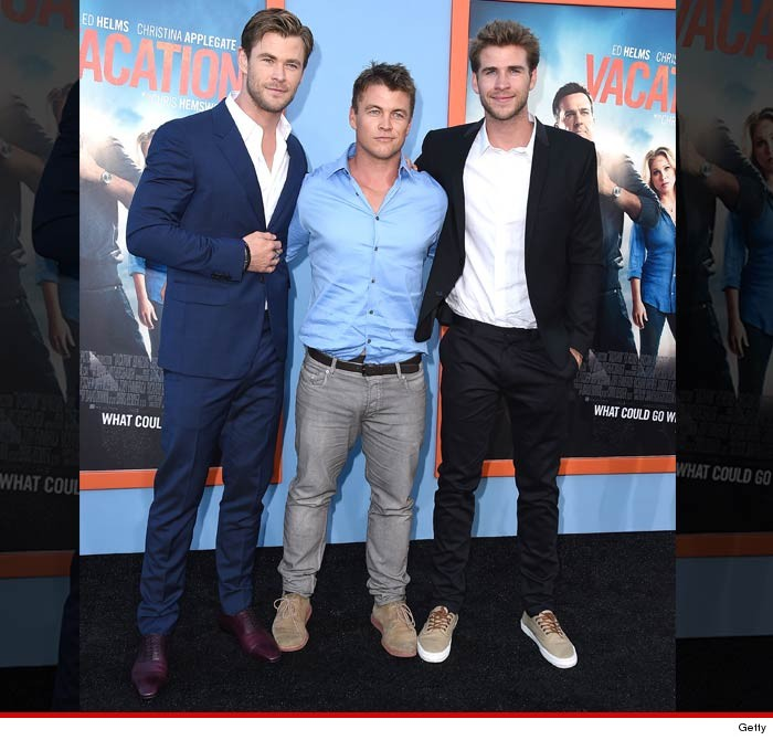 hemsworth brothers chris vs luke vs liam who d you rather tmz com