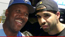 Joe Carter -- I'm Honored to Be In Drake Beef ... My Kid Thinks I'm Cool!