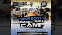 NBA's Mike Scott -- Youth BBall Camp Cancelled ... After Weed & Molly Arrest