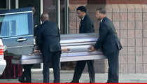 Bobbi Kristina -- Casket Arrives for Funeral  (PHOTOS)