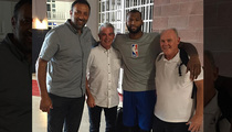 DeMarcus Cousins -- NBA Peace Summit ... Coach Was A Snake, But Now We're Cool (PHOTO)