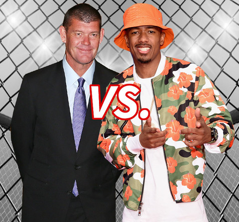 Better man for Mariah? James Packer (47) vs. Nick Cannon (34)