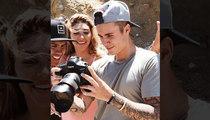 Justin Bieber -- Zooms In On Ex Chantel Jeffries