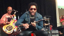 Lenny Kravitz -- I'm Committed to Leather ... Penis Escape was a One-Off