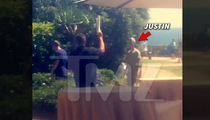 Justin Bieber -- Tricked By Cute Dog ... Served in Meek Mill Lawsuit (PHOTO)