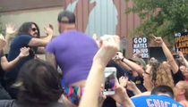 Foo Fighters -- Shut Down Westboro Protest ... In The Best Way Possible (VIDEO)