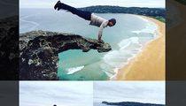 Kellan Lutz -- Crazy Death Wish Cliff Workout!!! (PHOTOS)