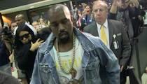 Kim and Kanye ... Shhhhh!!! Baby On Board, and She's Sleeping (VIDEO)