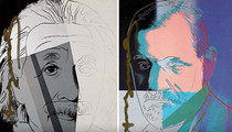 Andy Warhol Theft -- Someone Switched the Jews!!!