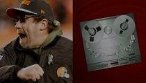 Cleveland Browns Coach -- Fiancee's Dramatic 911 Call ... He Strangled and Beat Me