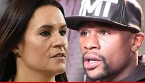 Dr. Jen Welter -- I'm Not Walking Floyd to the Ring ... But I'll Be At the Weigh In