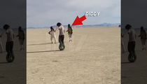 Diddy -- Take That, Take That ... at Burning Man!! (VIDEO)