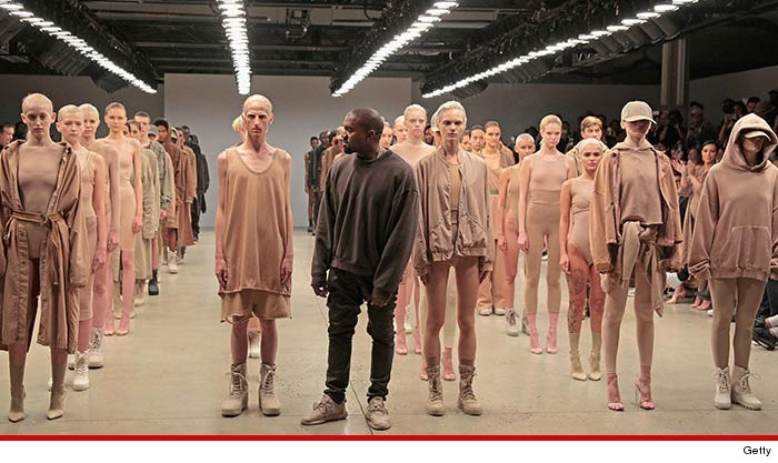 b30d23bcc0d2f Kanye West -- Models Come Up ... Yeezys for All!!