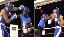 Lil Za -- Justin Bieber's Still My Homie, But Boxing Saved Me (VIDEO)