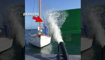 DeAndre Jordan -- Blasted with Water Cannon ... With Billy Crystal?!