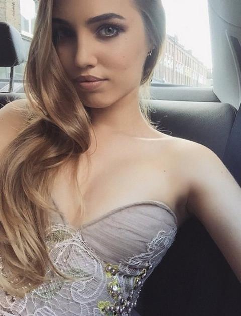 Amber Le Bon, daughter of Duran Duran's Simon Le Bon & Yasmin Le Bon