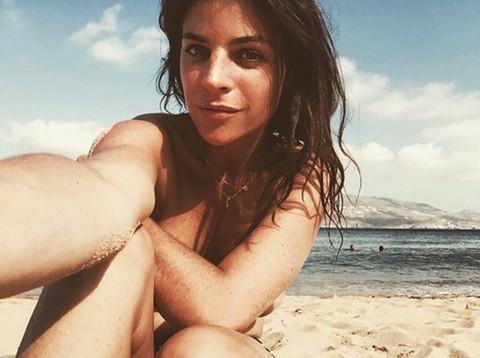 Julia Restoin Roitfeld, daughter of former Vogue editor-in-chief, Carine Roitfeld