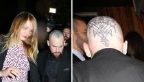 Cameron Diaz & Benji Madden -- My Husband's Skull Is ... A Work of Art (PHOTO)