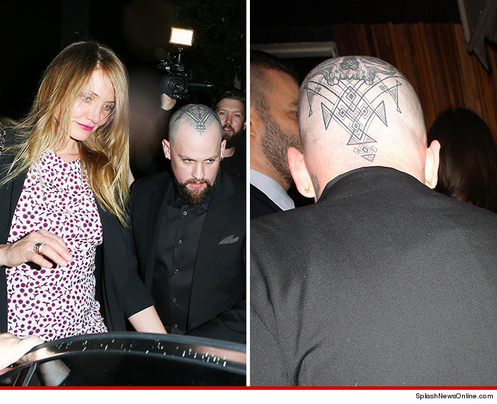 cameron diaz benji madden my husband s skull is a work of