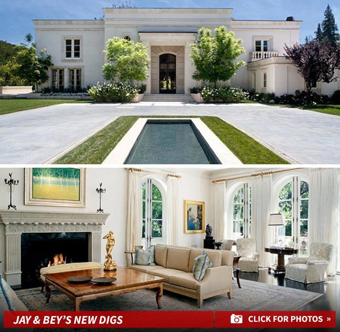 Beyonce and Jay Z rent $45 million LA mansion after