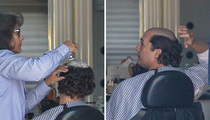 Matthew McConaughey -- Shaves Head ... And it Burns!!! (PHOTOS)