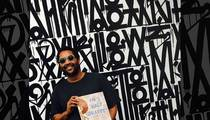Street Artist Retna -- From Bieber Art to Common Vandal ... Allegedly